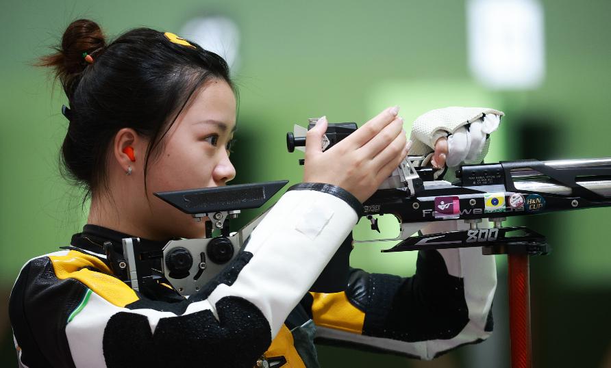 直播:女子10米气步枪决赛 中国冲首金 附直播地址